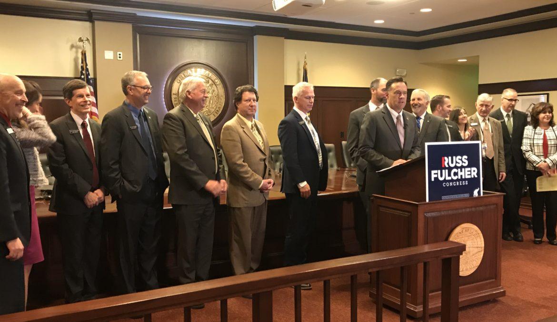 Russ Fulcher Announces Ted Cruz, Legislative Endorsements